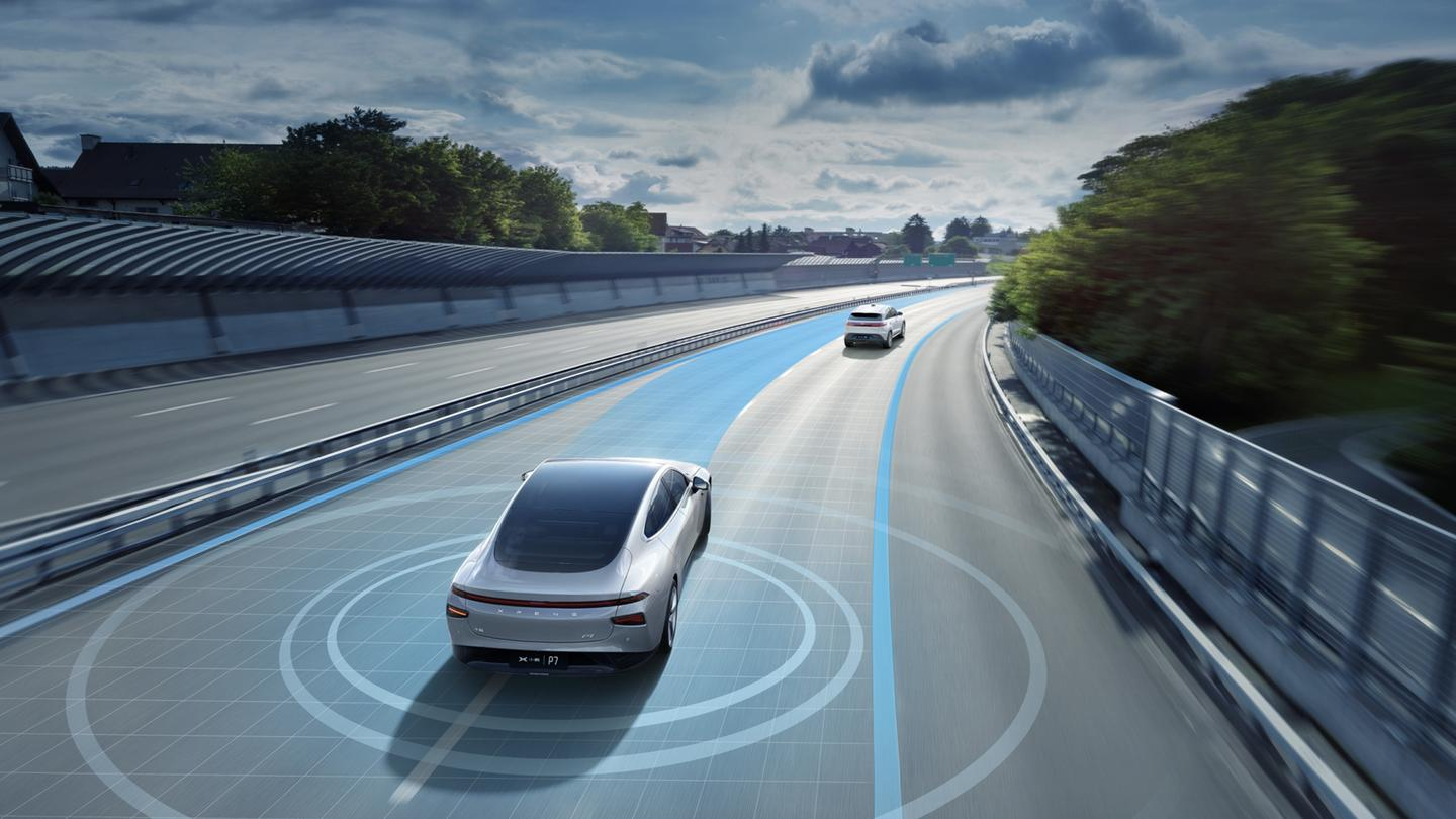 Tesla rival XPeng P7 gets significant self-driving ...
