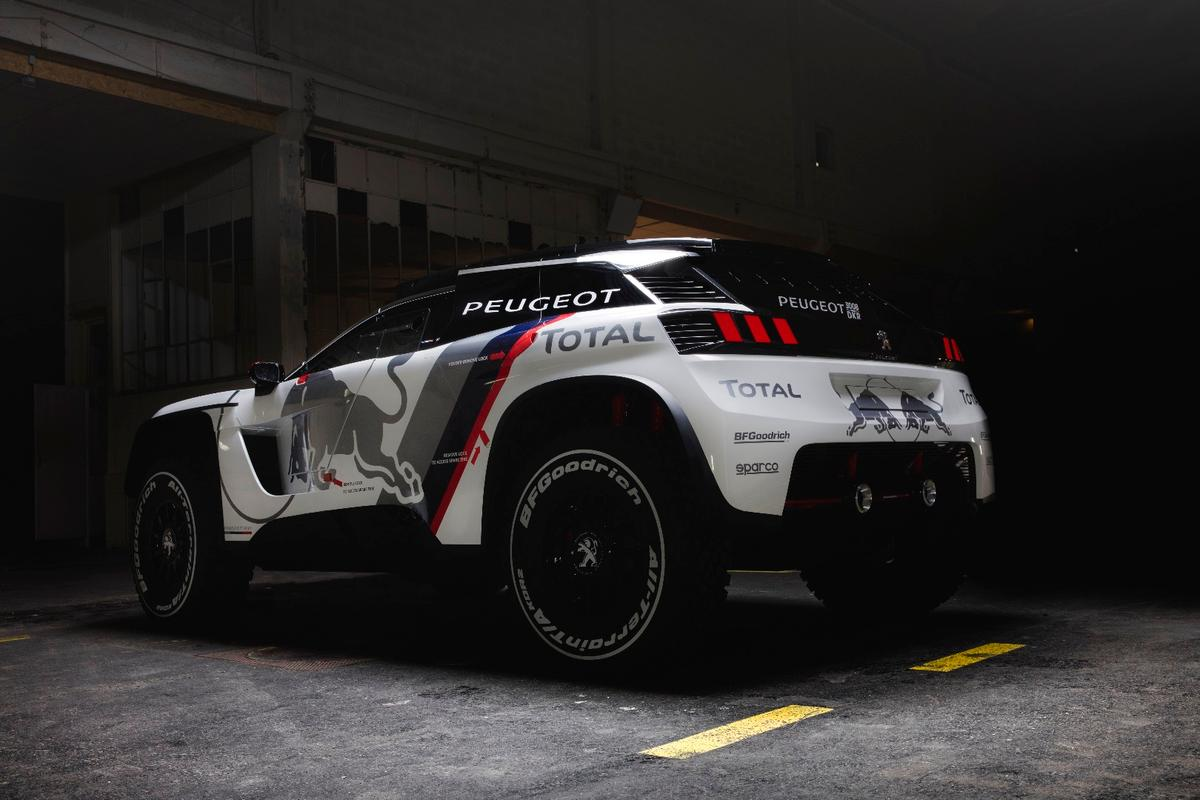 Like its predecessor, the 3008 DKR features 2WD