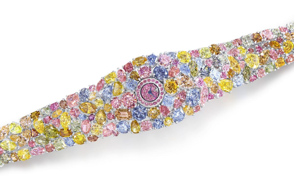 The $55 million Hallucination ladies watch from Graff Diamonds