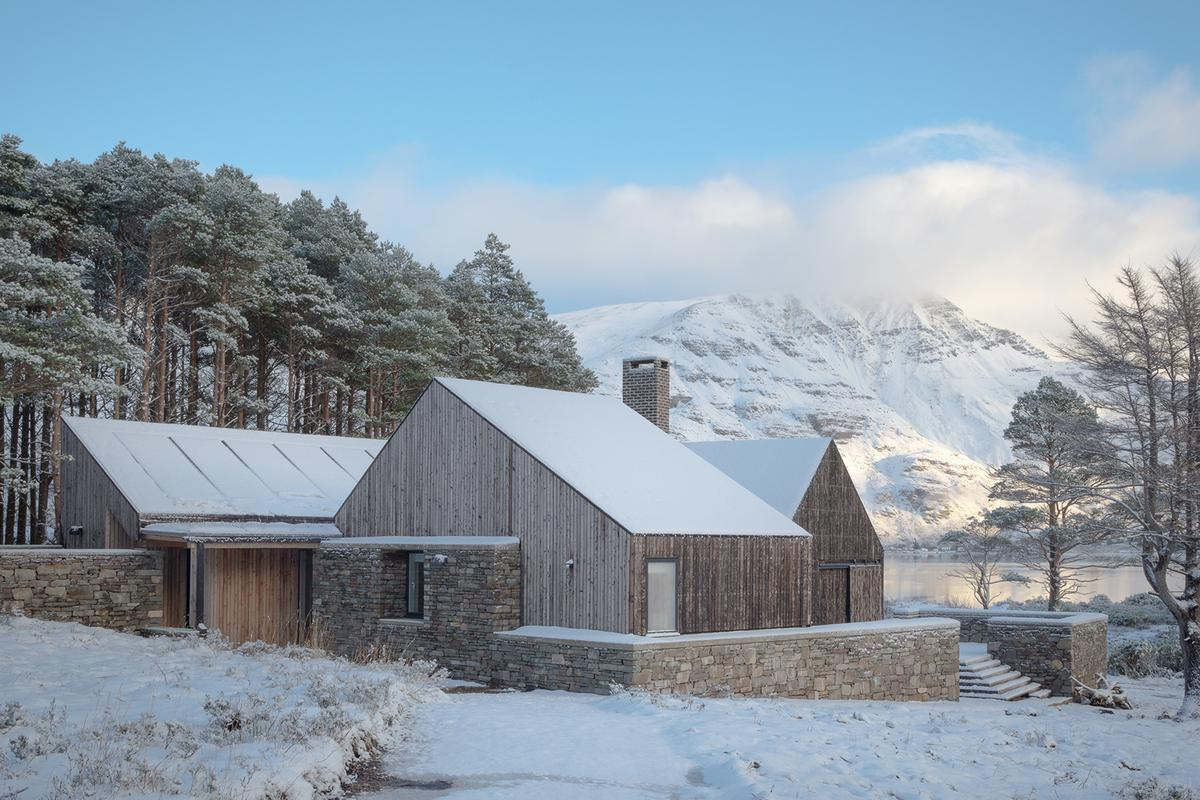 Scotland's Lochside House, by Haysom Ward Miller Architects, has been declared the winner of RIBA's prestigious House of the Year competition