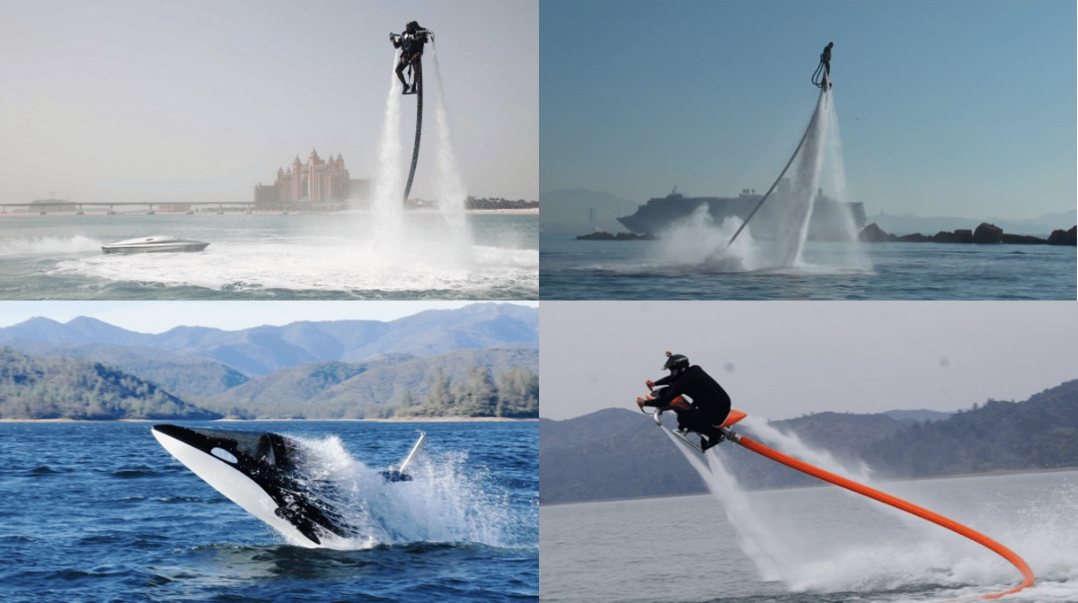 With both the Flyboard and Jetovator under US$10,000, an entirely new water sport can be had using the PWC you already own