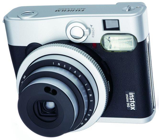 Fujifilm's INSTAX Mini 90 Neo Classic instant film camera