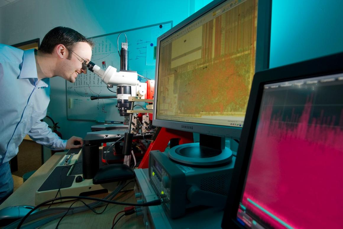 Fraunhofer is developing machines with built-in copy protection (Photo: Volker Steger)