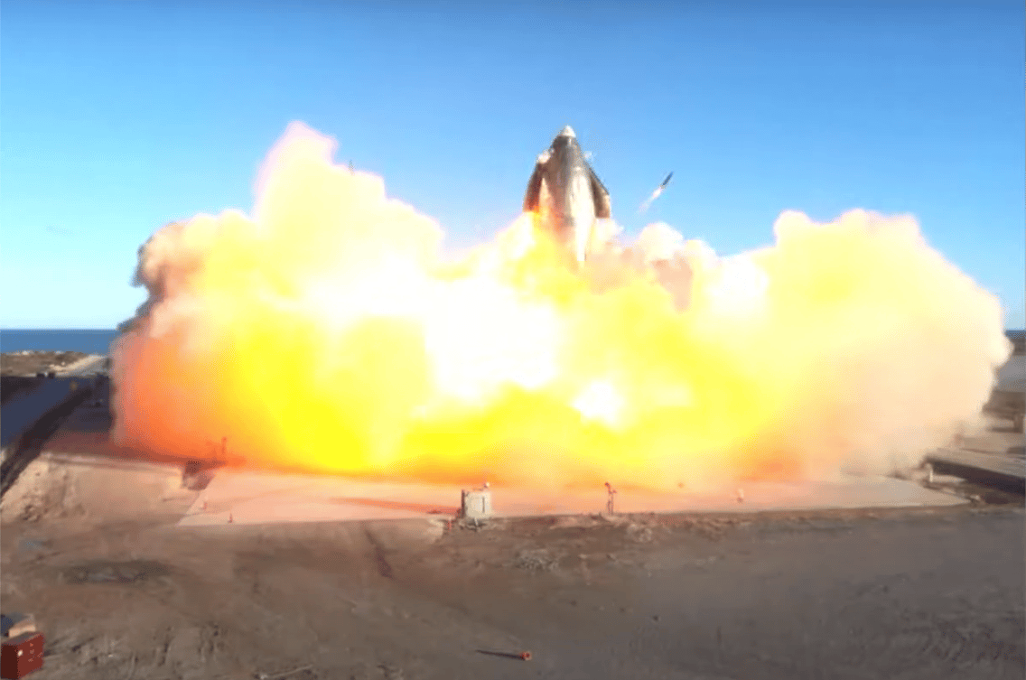 SpaceX's Starship prototype makes an explosive landing attempt