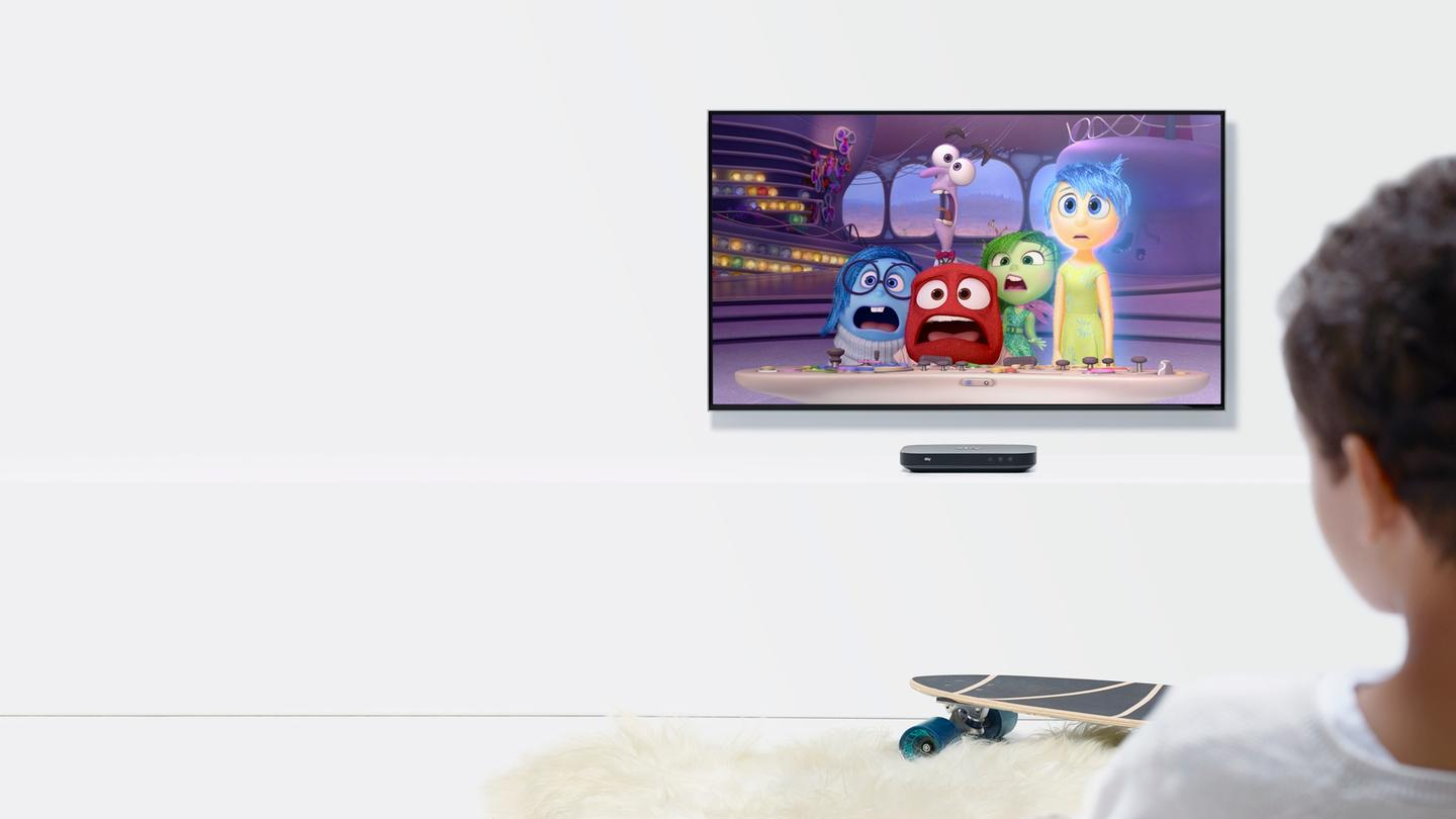 The Sky Q Mini Box allows users to watch different content on different TV screens around their home