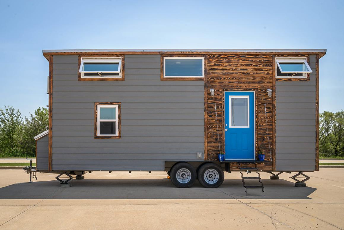 Wind River Tiny Homes built the Triton to order for US$57,000