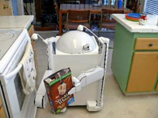 Readybot domestic robot prototypePhoto: www.readybot.com