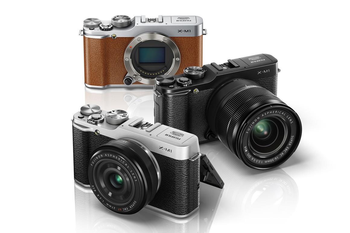 The Fujifilm X-M1 interchangeable lens camera system