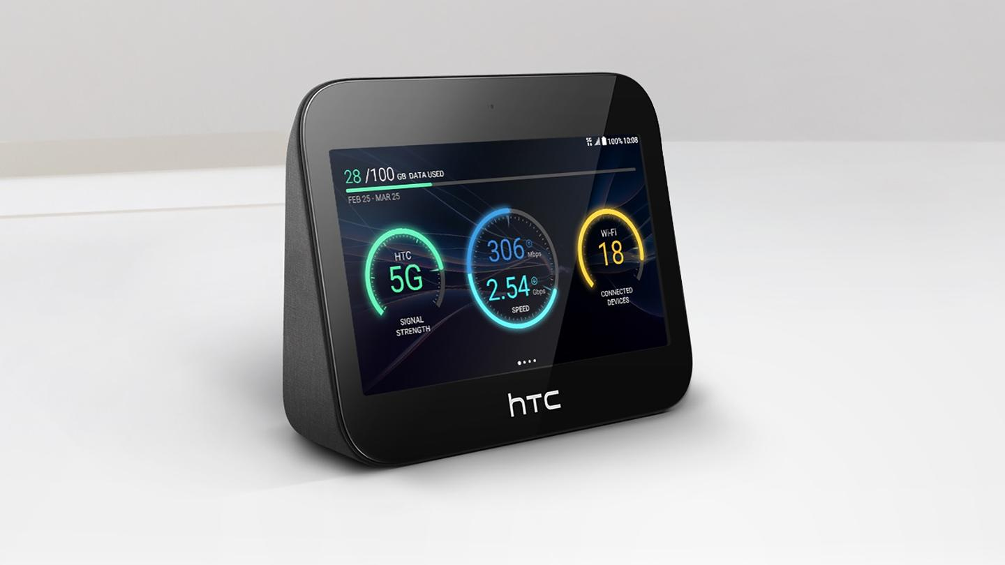 The HTC 5GHub can connect to 20 devices around the home