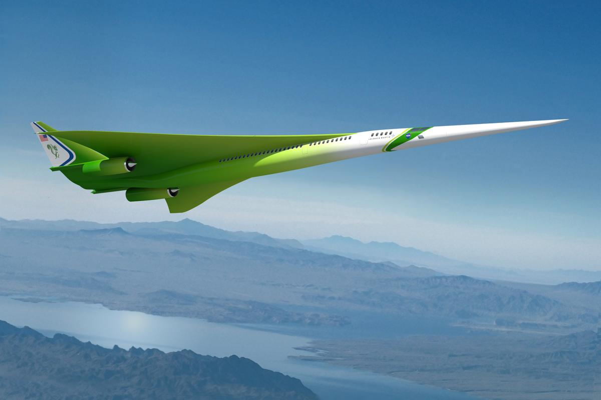 The Lockheed Martin future supersonic advanced concept (Image: Lockheed Martin/NASA)