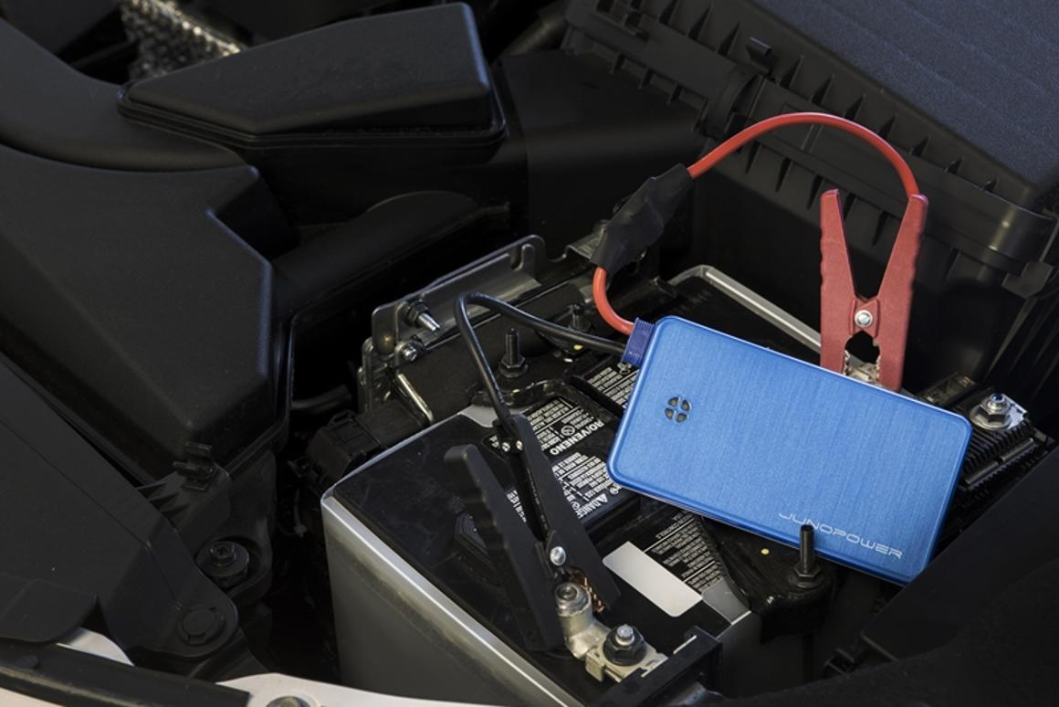 Juno Power claims its new Jumpr is the smallest car jump starter in the world