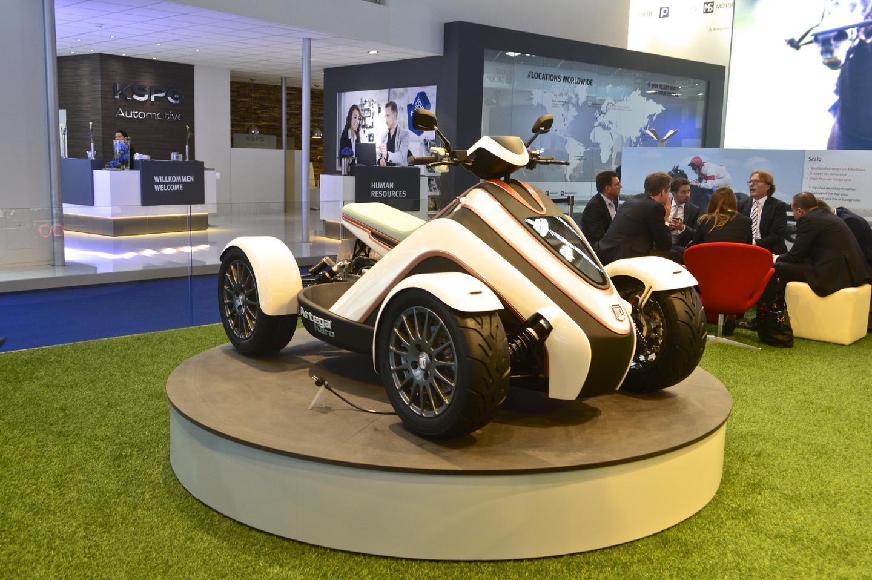 Artega reveals the Karo concept at the 2015 Frankfurt Motor Show