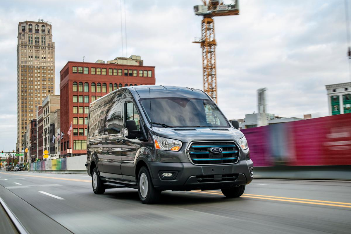 Ford gives American companies a cleaner, quieter way of operating a van fleet