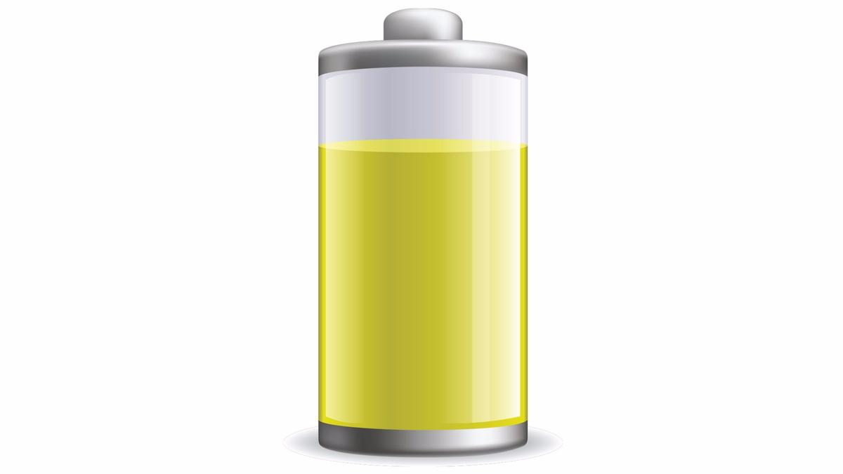 A newaluminum-ion battery developed at Stanforduses an electrolyte made of urea, the main component of urine