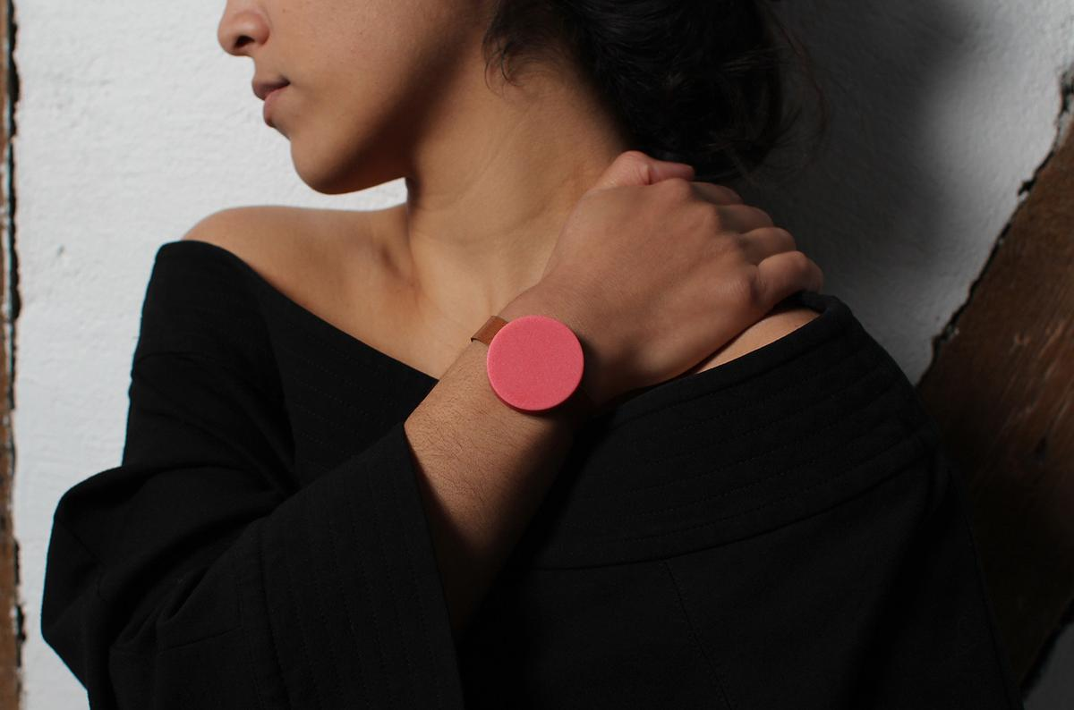 Durr is worn on your wrist in the same way as any other watch