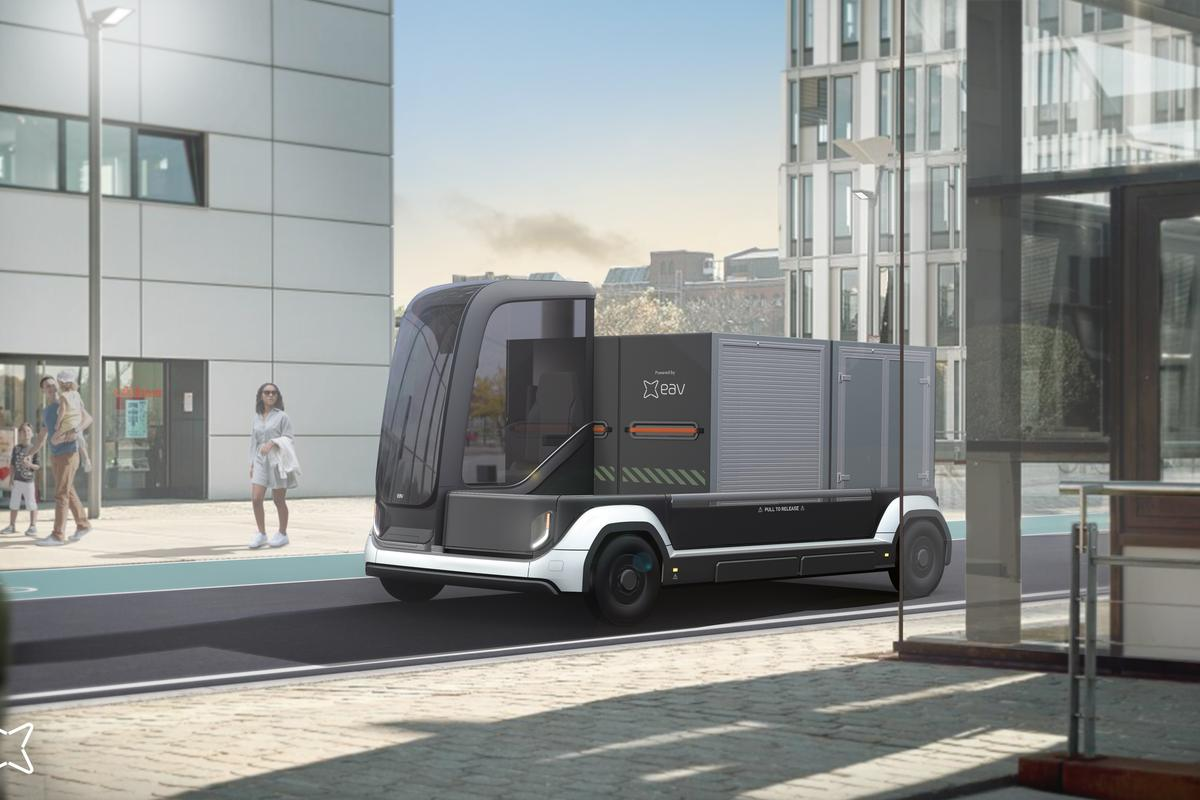 EAV's Lincs electric vehicle will have a range of around 100 miles