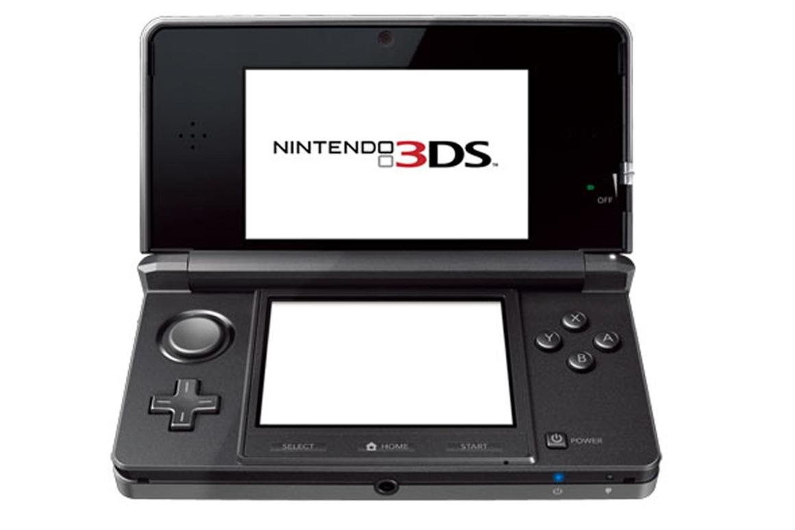 The Nintendo 3DS features a 3D display up top and a touchscreen display down low