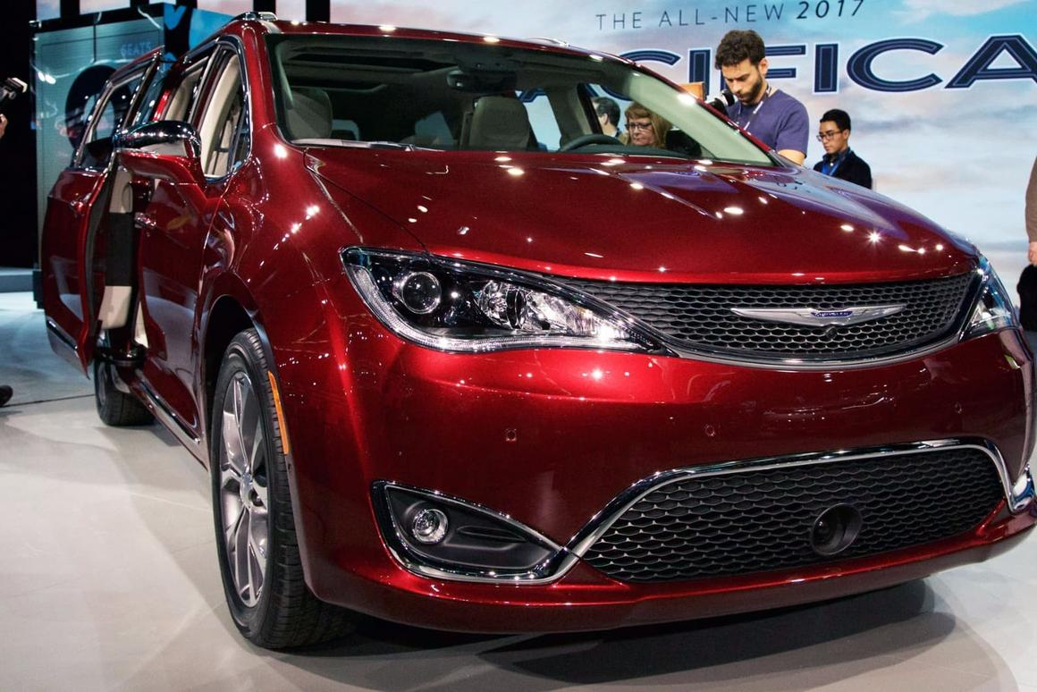 The Chrysler Pacifica will be used as a base for Google's self-driving car technology