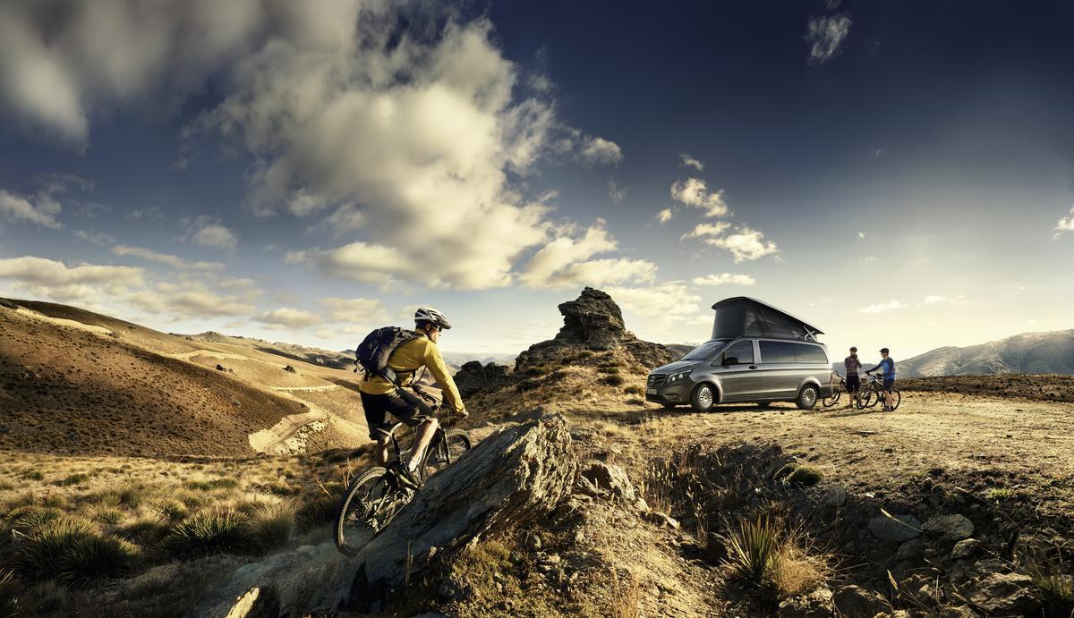 Mercedes-Benz updates the Marco Polo Activity camper van