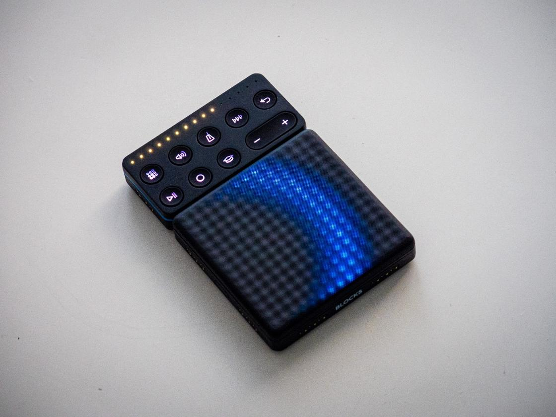 This small, portable Bluetooth MIDI controller gives you extraordinary expressive capabilities for a digital instrument