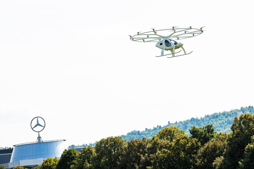 In the world of flying taxis, Volocoper is certainly among the busier players on the scene