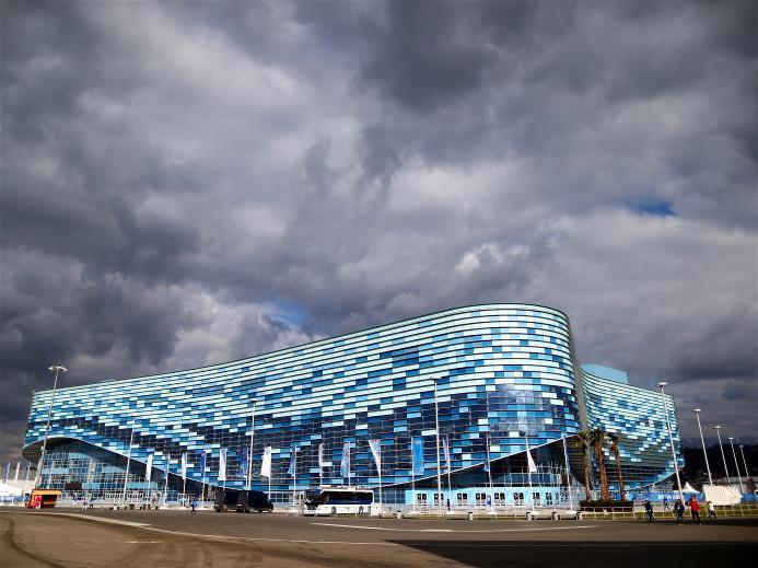 The Iceberg Skating Palace (image: Sochi 2014 Organizing Committee)
