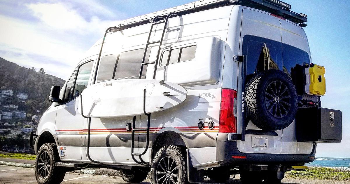 """Storyteller off-road adventure camper van goes full-on """"Beast Mode"""""""