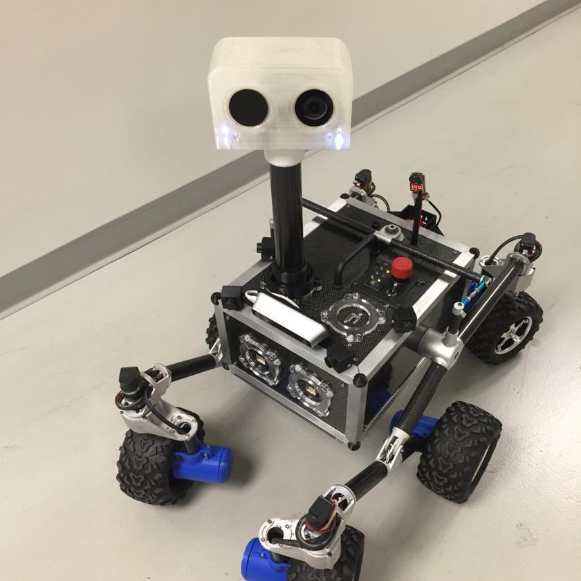 JPL's ROV-E outreach rover was built to engage students and the public
