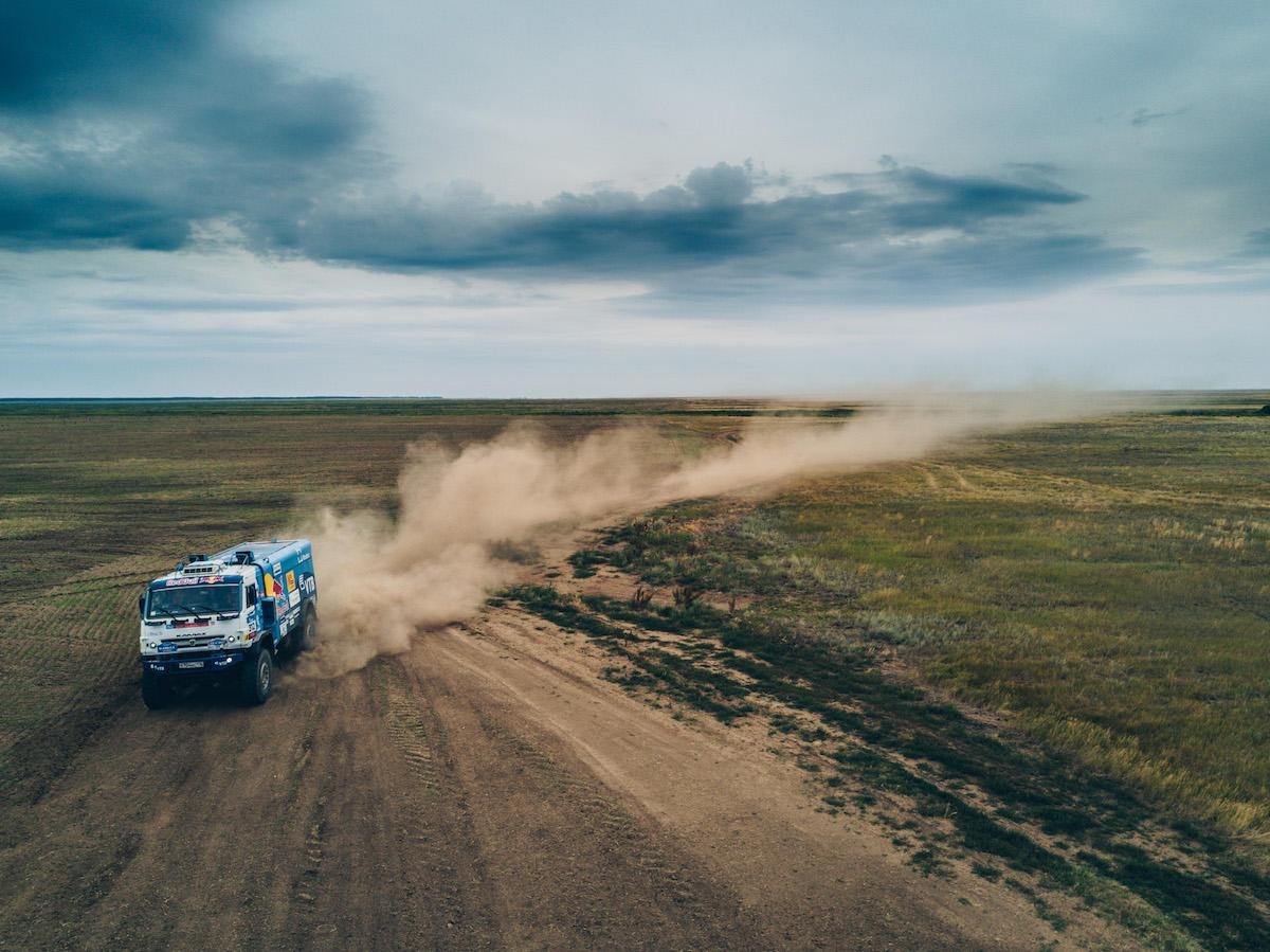 Kamaz is a fixture of endurance rallies worldwide