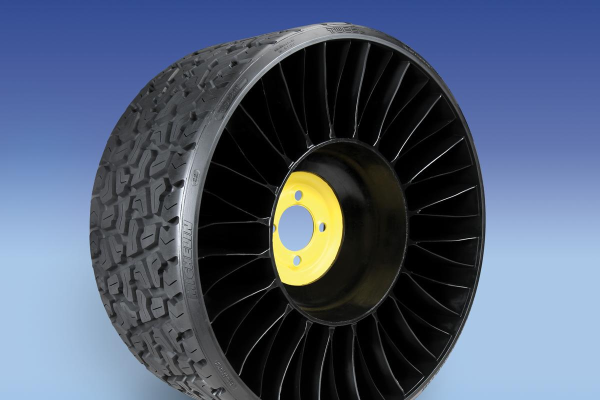 Michelin has announced the opening of its newest North American plant, which it says is the first in the world dedicated to the manufacture of airless tires
