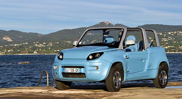 The Bluesummer in its one and only color choice
