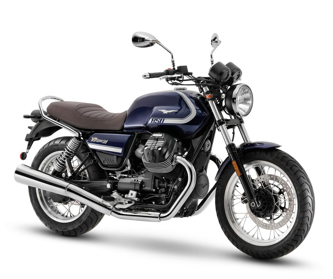 The 2021 Moto Guzzi V7 steps into a new era with larger and more powerful engine