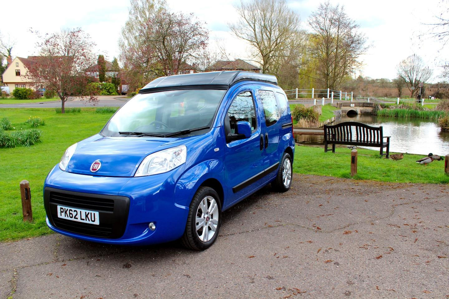 The Vikenze II is built on the Fiat Qubo