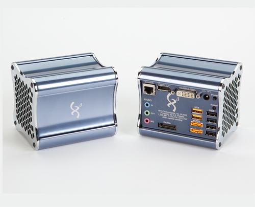The Xi3 Modular Computer features Dual Core processing power, a host of external connectivity ports, and splits the motherboard over three hot-swappable parts