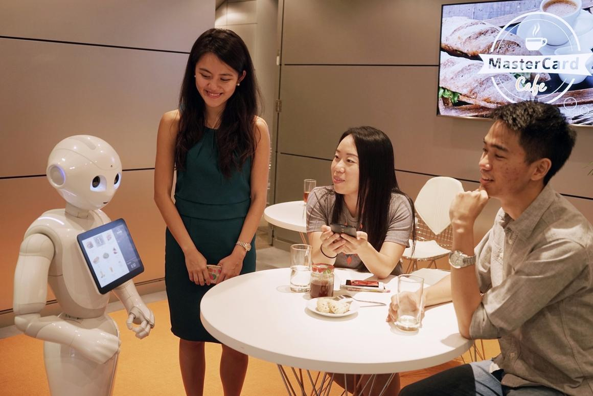 Customers will be be able to interact with Pepper using natural speech