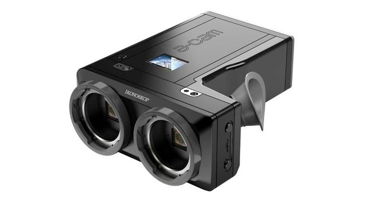 The Ikonoskop A-Cam3D features 3D 1080p HD video recording