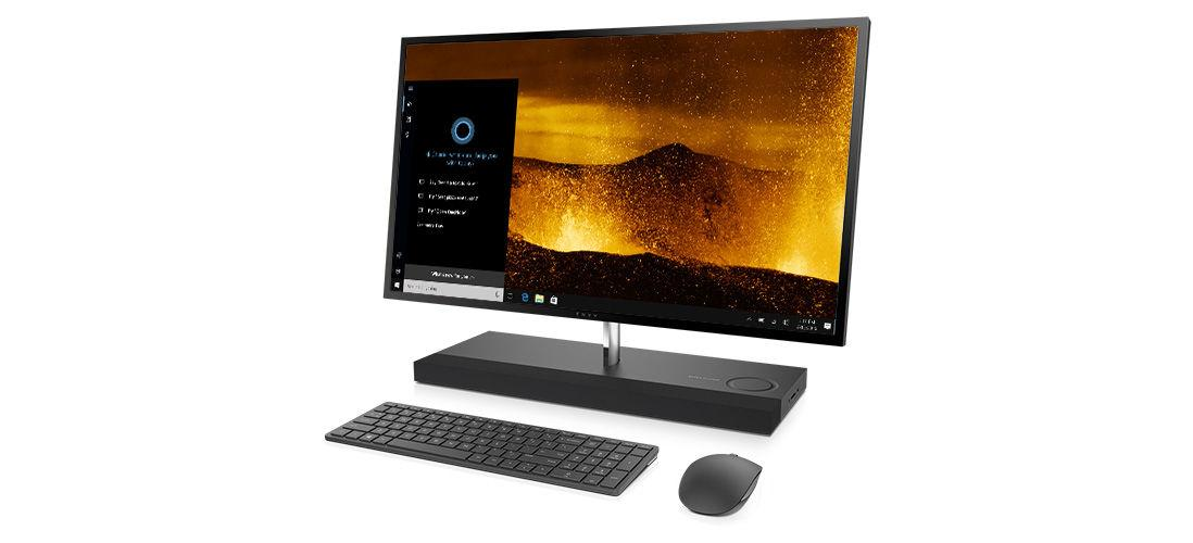The HP Envy 27 AIO packs all the hardware into the base