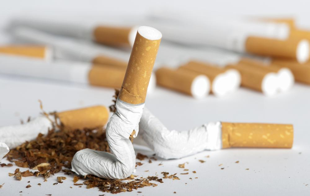 A naturally-occurring enzyme has been found to dramatically reduce the half-life of nicotine in the blood