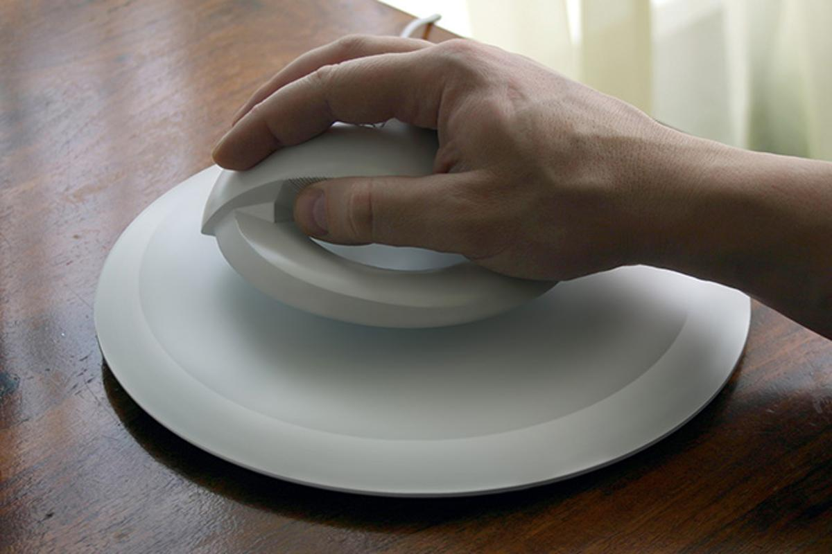 The designers of the BAT levitating wireless mouse say that it's been developed to help prevent Carpal tunnel syndrome