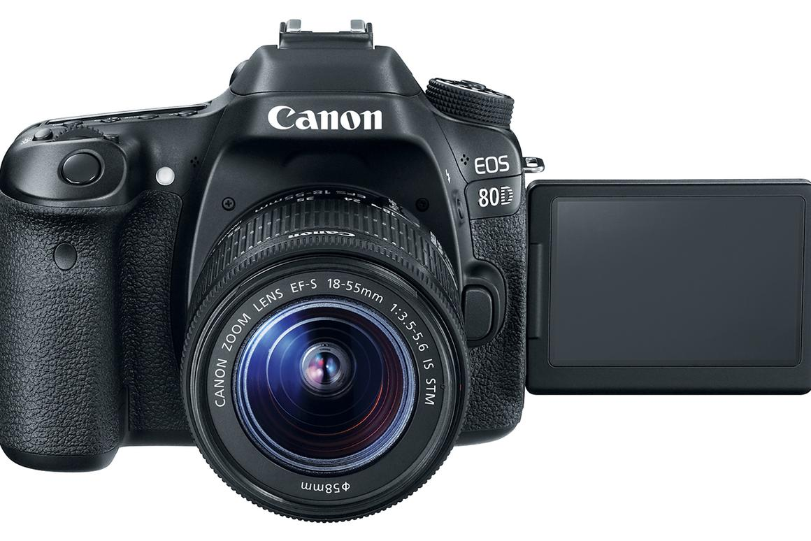 The Canon EOS 80D features improved autofocus whether shooting stills or video