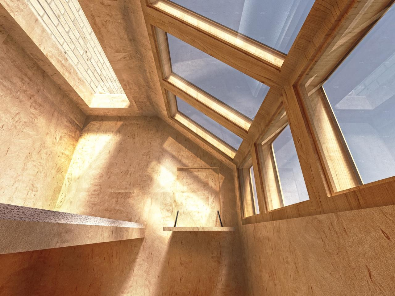 The pods can be constructed with a variety of materials, but the designs propose the use of insulated floor and wall paneling with zinc cladding
