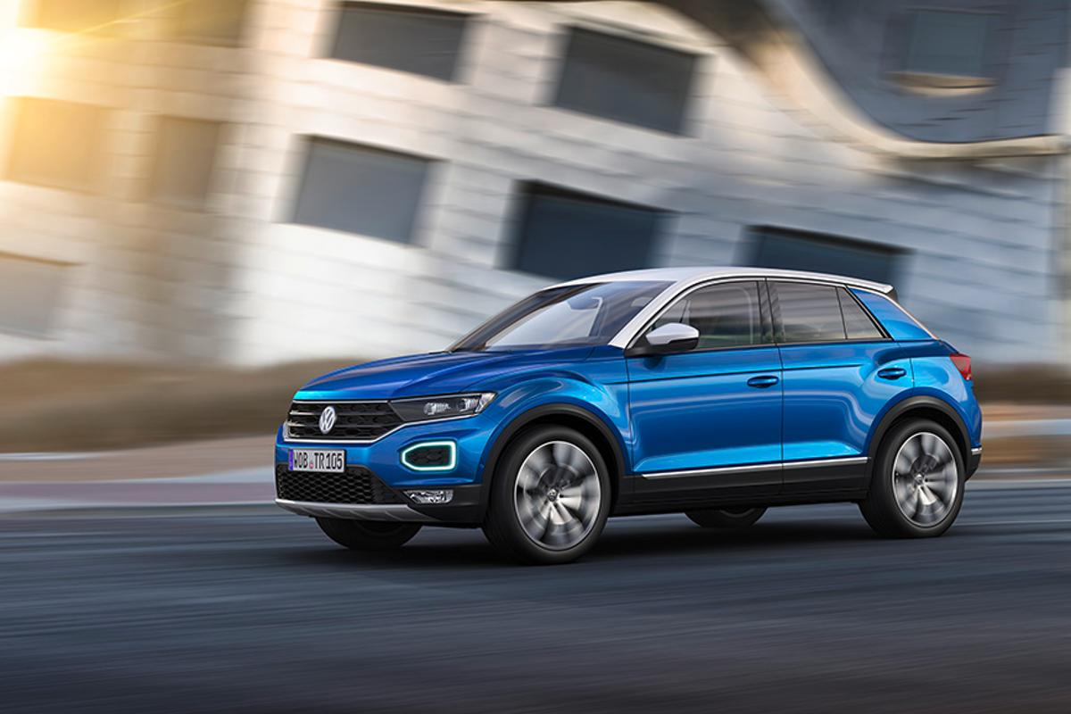 Volkswagen reveals the T-Roc