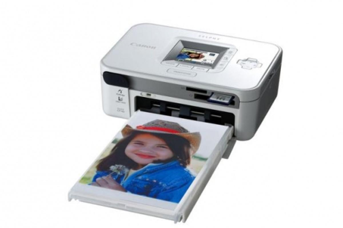 Canon's SELPHY CP740 Compact Photo Printer