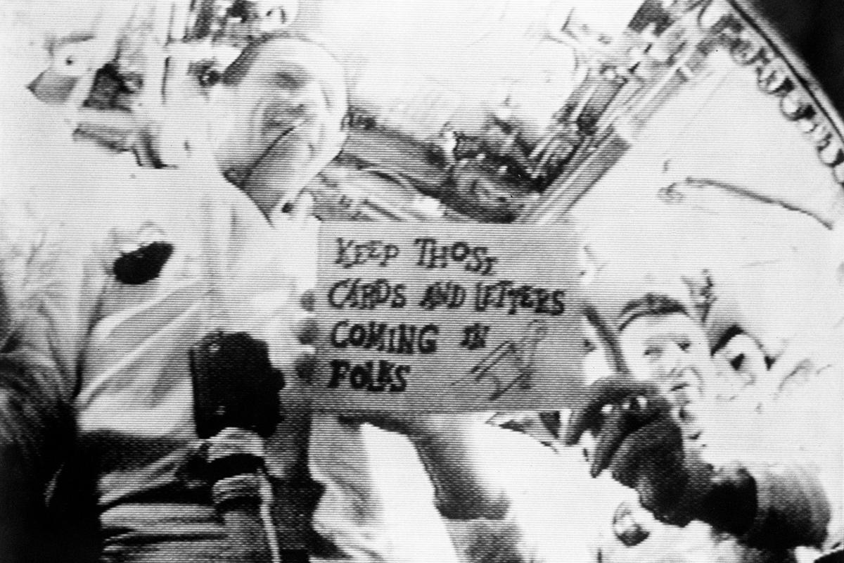 Television broadcast from Apollo 7