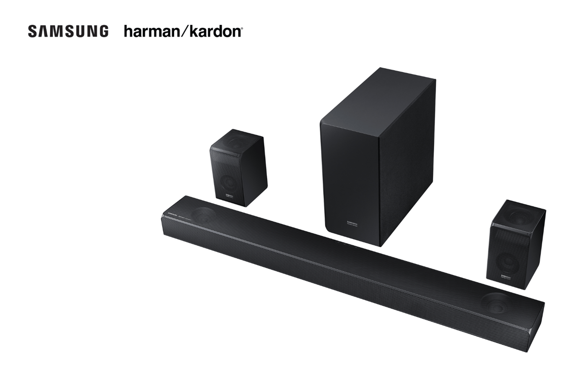 The HW-N950 (pictured) and HW-N850 soundbars are due for release on August 20