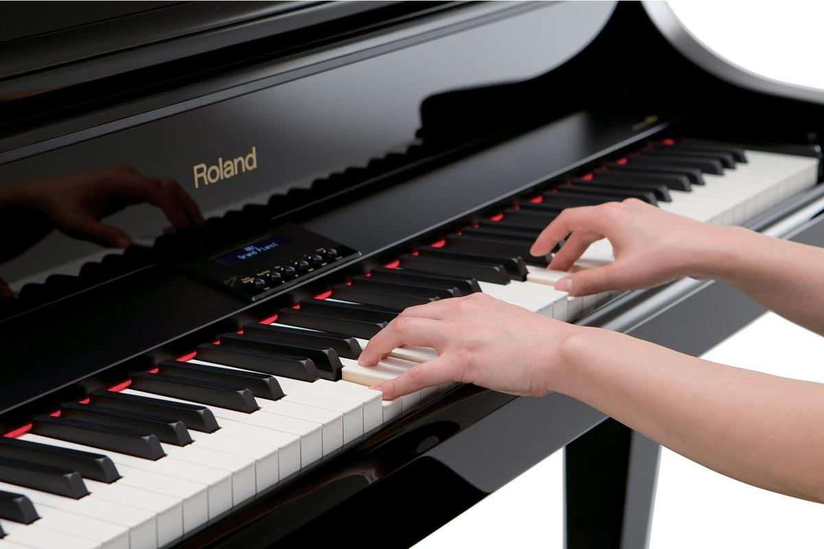 Roland has updated the sound engine for four of its digital home pianos and also given them a more ivory-like keyboard