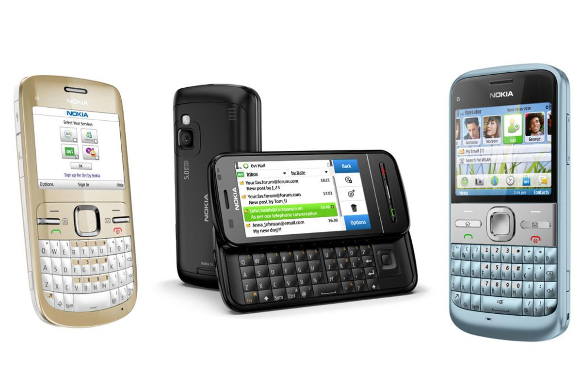 Nokia has released three new QWERTY handsets
