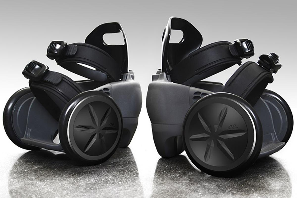 spnKiX are remotely controlled battery-powered motorized shoes up for pre-order via Kickstarter