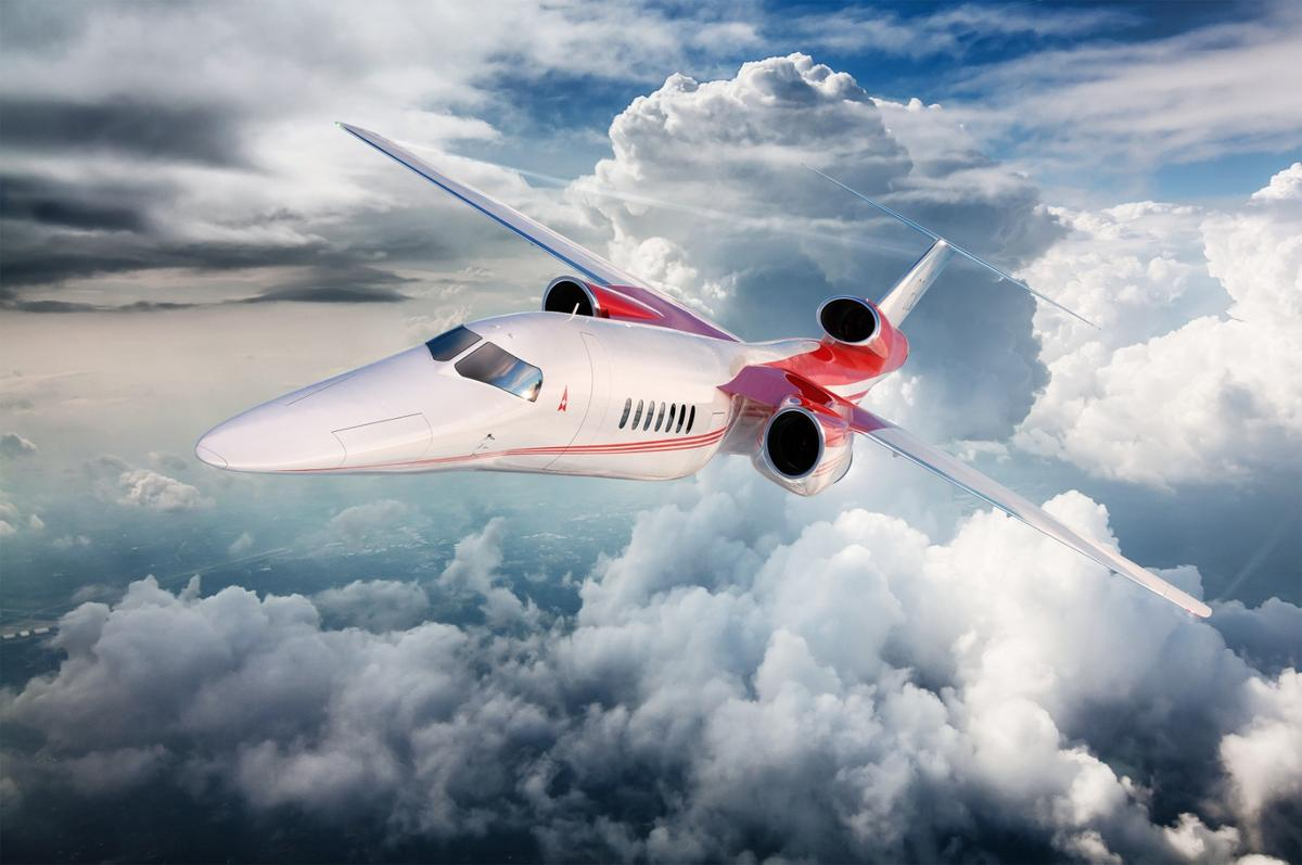 The Affinity engine is designed to fly in the Aerion AS2 supersonic business jet