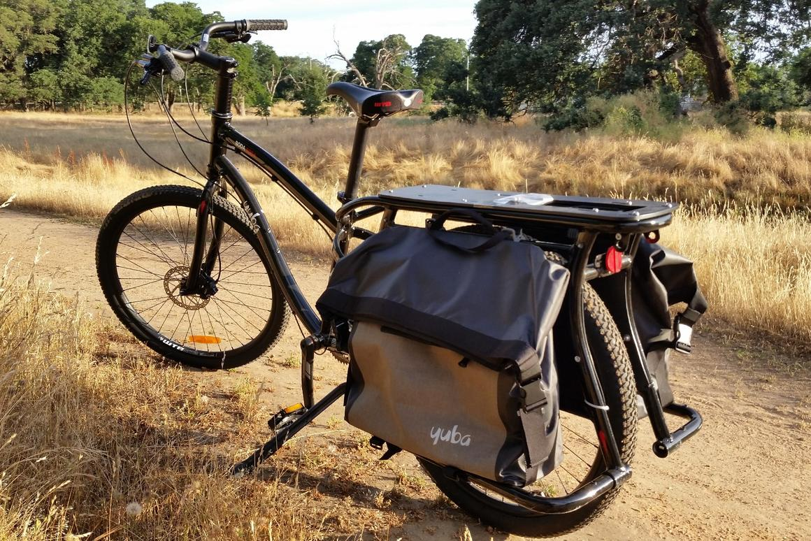 Even carrying a load, the All-Terrain is comfortable on most surfaces